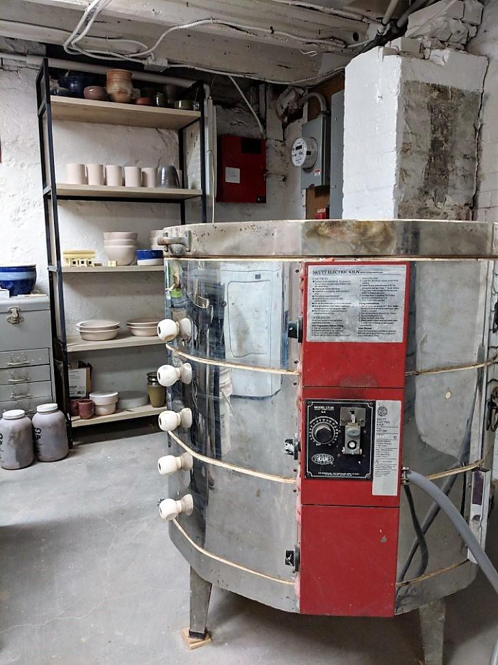 Heating up - Facility kiln