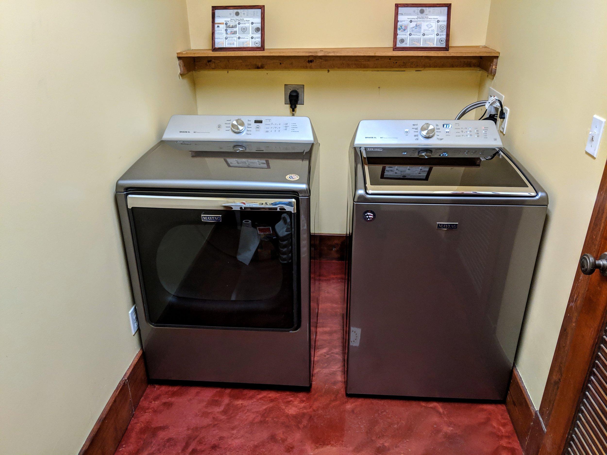 Large Capacity Washer/Dryer