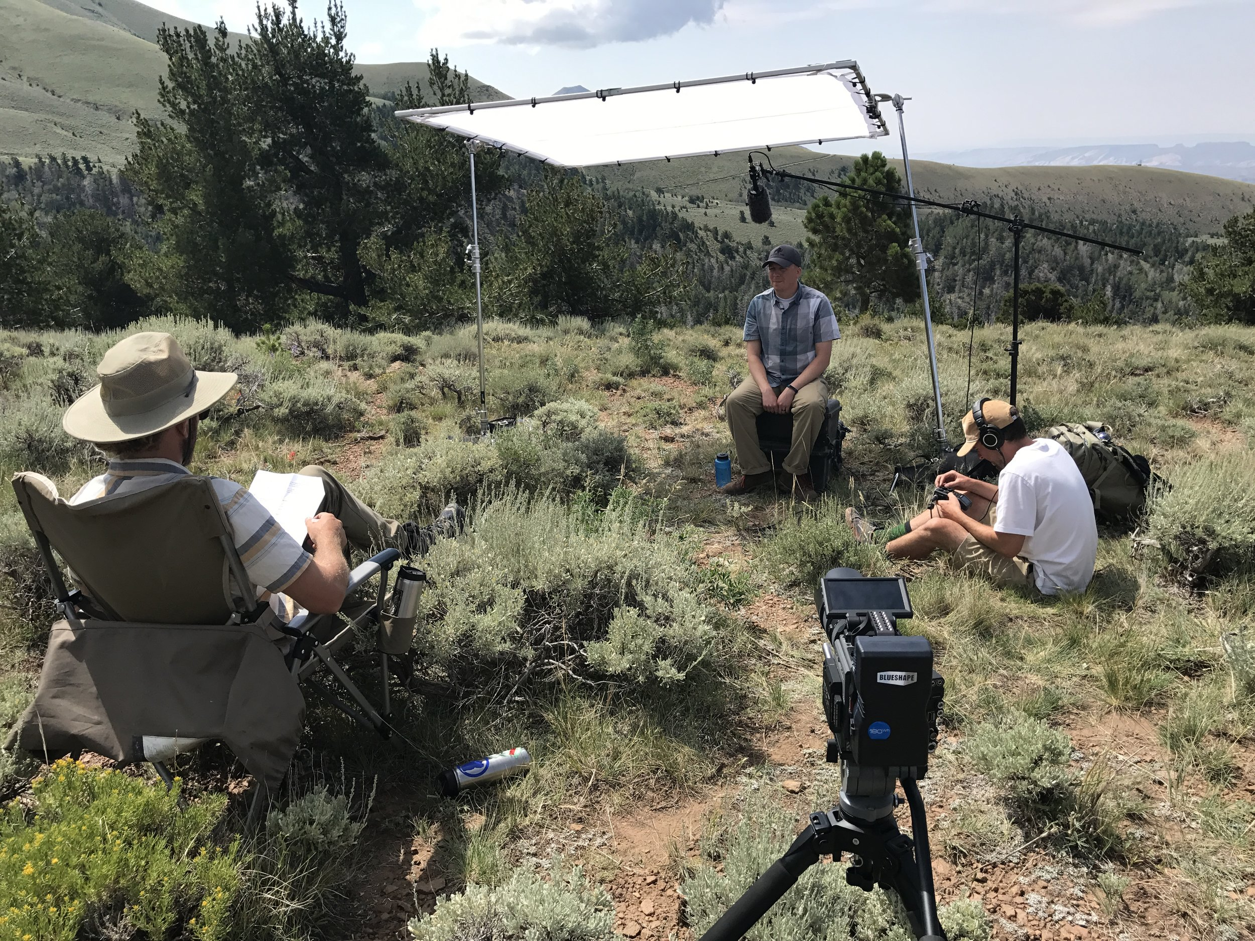 Dr. Dustin Ranglack, interviewed on location in the Henry Mountains