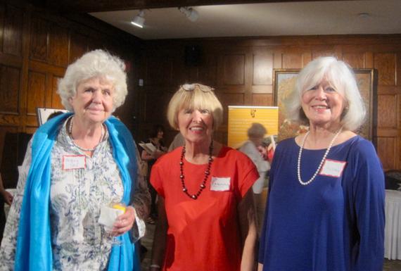Rosemary & Susan with Mary Jo Leddy, founder of Romero House