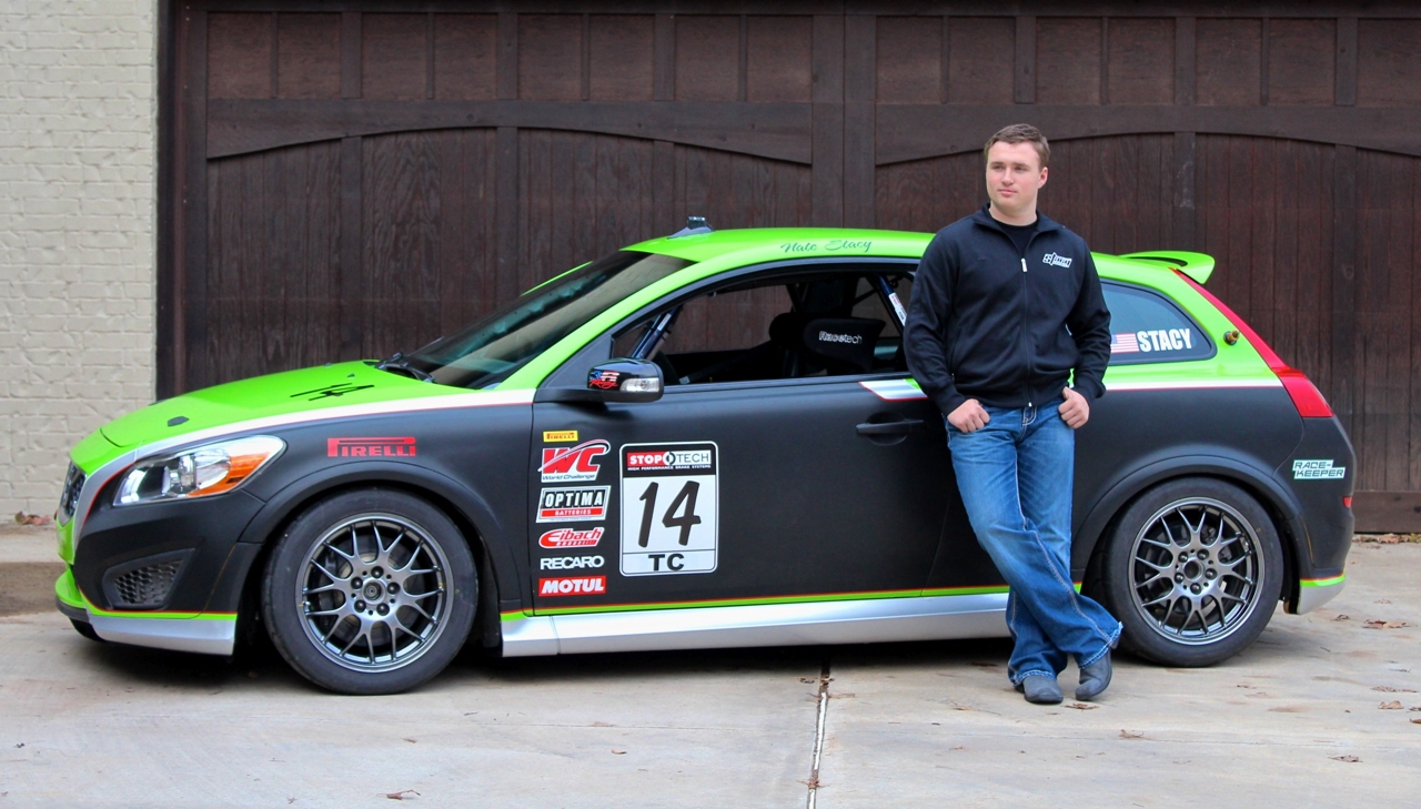 """- Growing up in Owasso Oklahoma, Nate was surrounded by the """"car culture"""". His grandfather owned and operated a paint and body shop and his Dad Mike was racing his Shelby in the """"American Iron"""" series in Texas. Sitting on the sidelines watching his Dad race wasn't easy for Nate and he soon started asking when he could start racing like his Dad."""