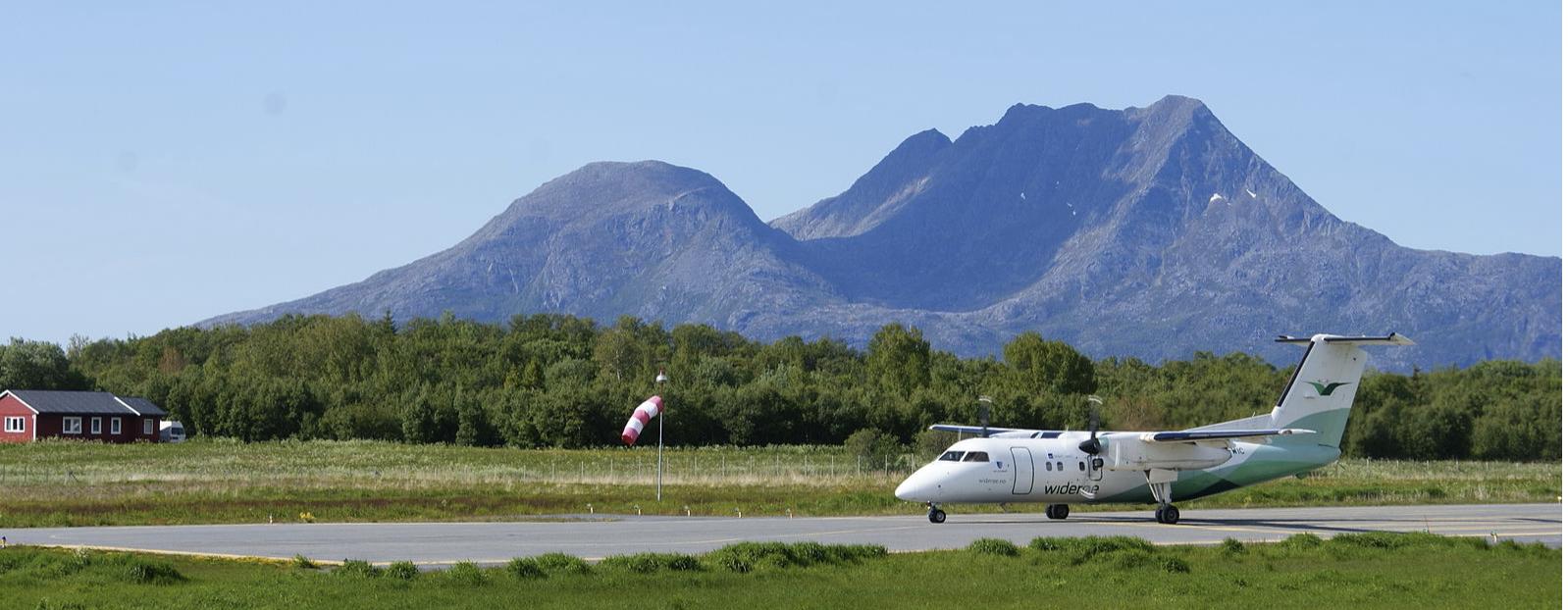 Stokke flyplass, Sandnessjøen