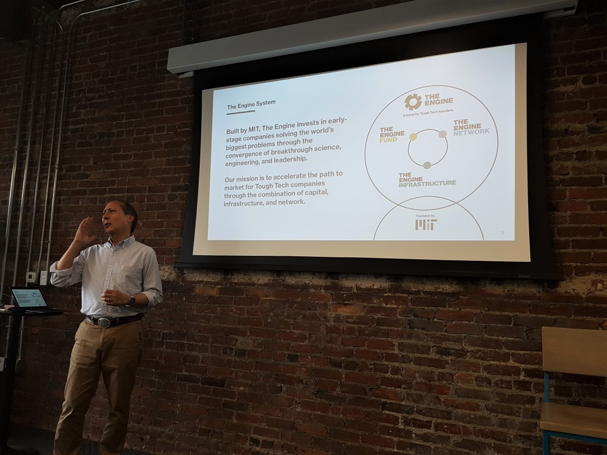 MIT The Engine's Reed Sturtevant: ideas growing into companies