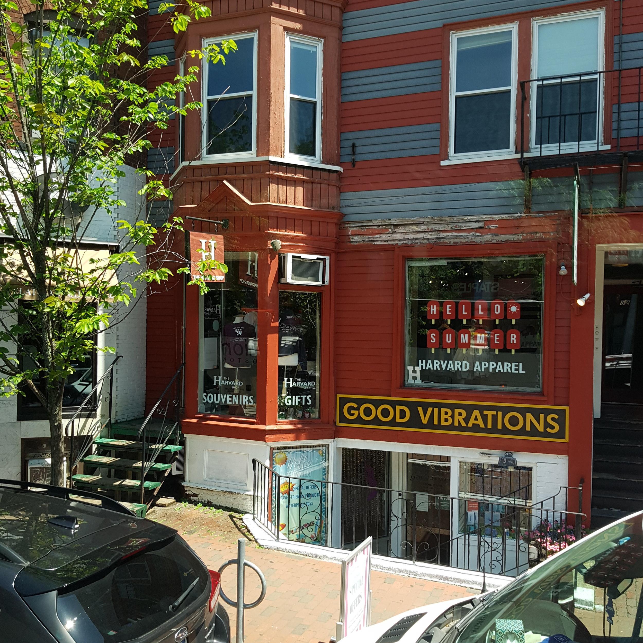 Good vibrations in Boston, Massachusetts!