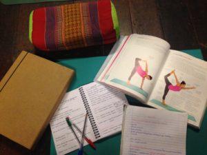 Late night shala study