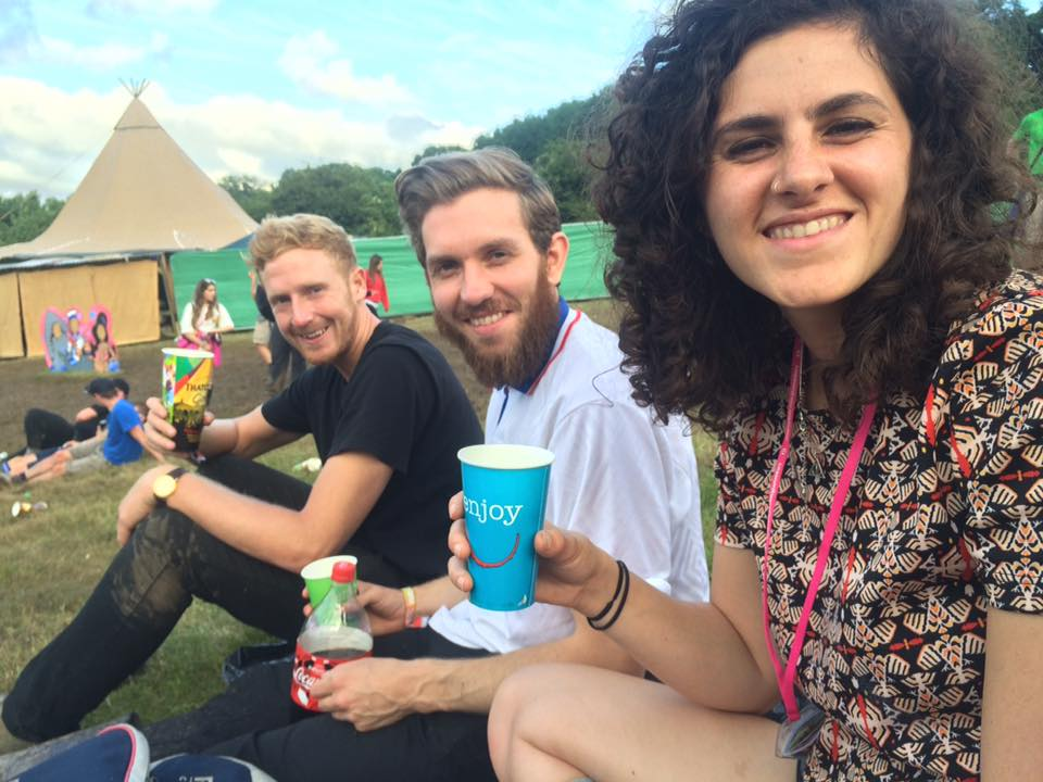Glastonbury 2016 - every square inch is muddy but my hair is clean!