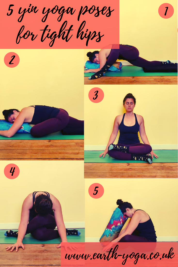 My favourtie hip opening yin yoga poses  (Bolster:  Wolf and Mermaid )