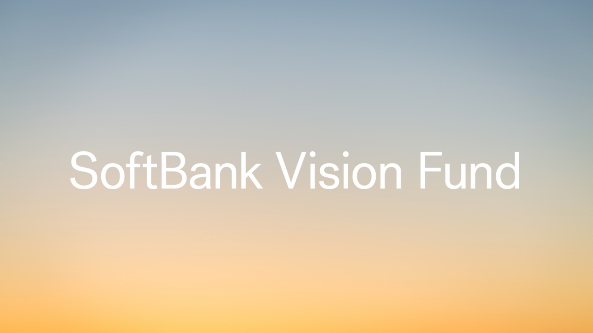 SoftBank Vision Fund – Annalisa Swank
