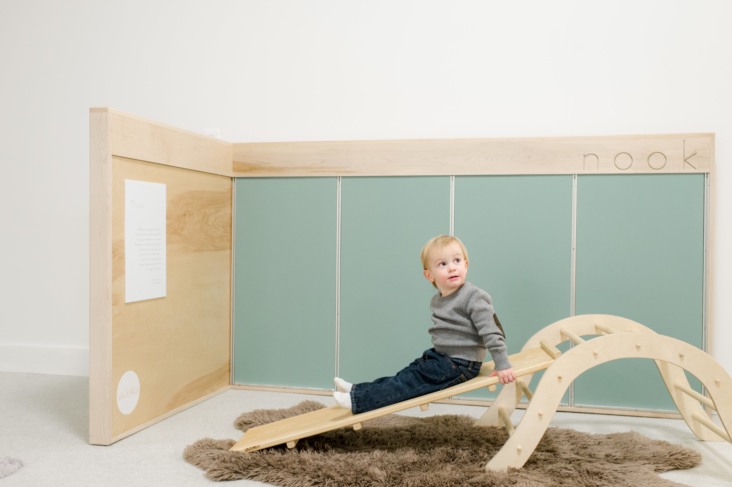 wiwiurka - hand-crafted wooden play and climbing structures for your home, inspired by Waldorf, Pikler, and Montessori.