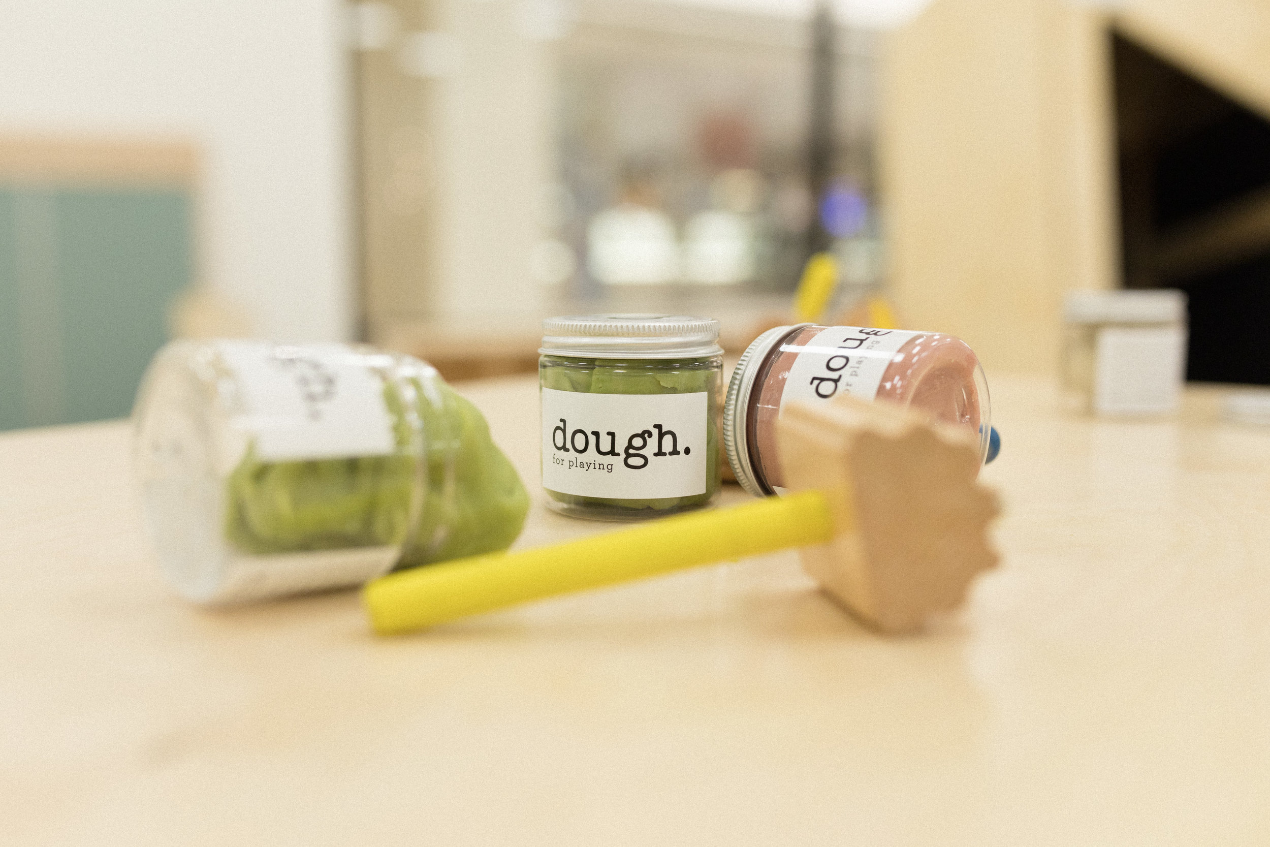 Discover THE DOUGH PROJECT - Come in and roll out dough at our Nook locations!