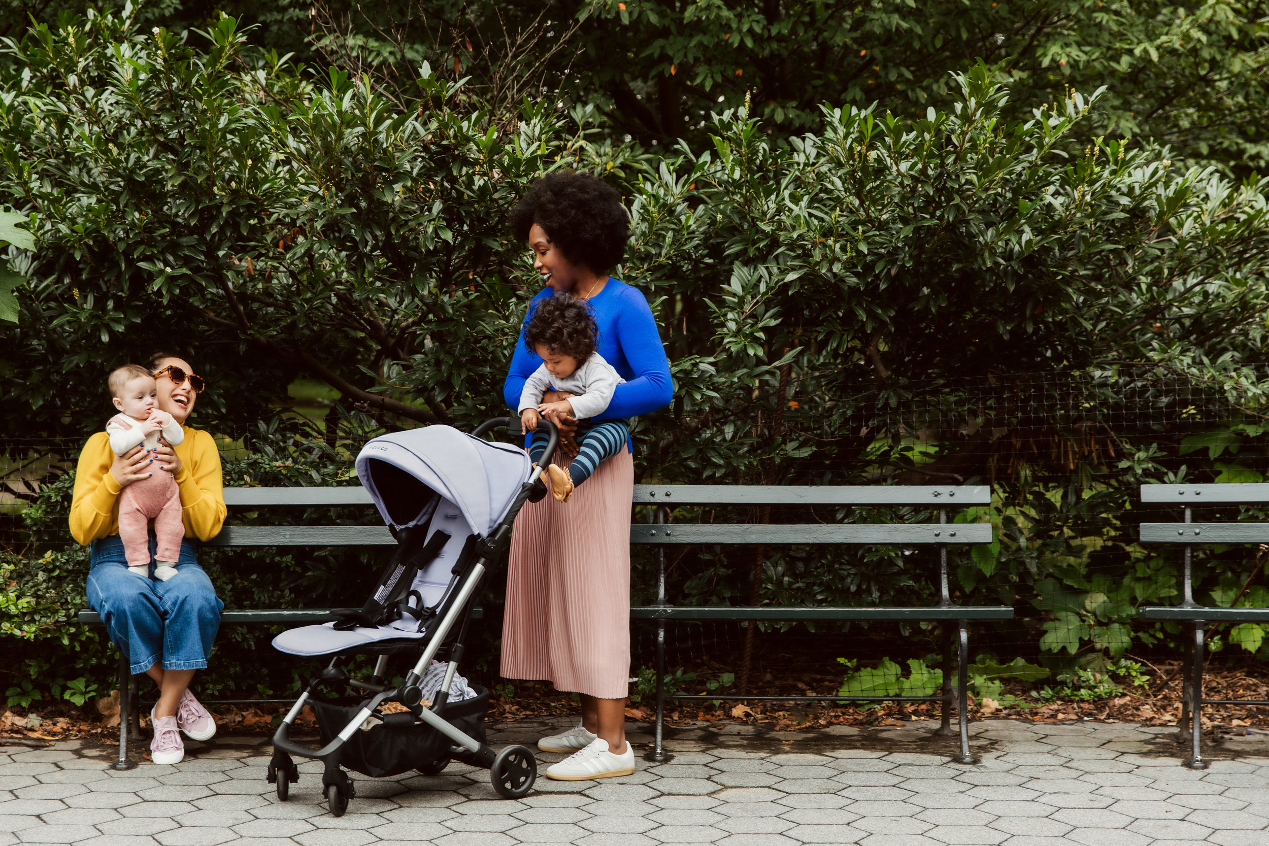 colugo - Colugo created line of strollers, carriers, and accessories that are super streamlined and easy to use on the go.