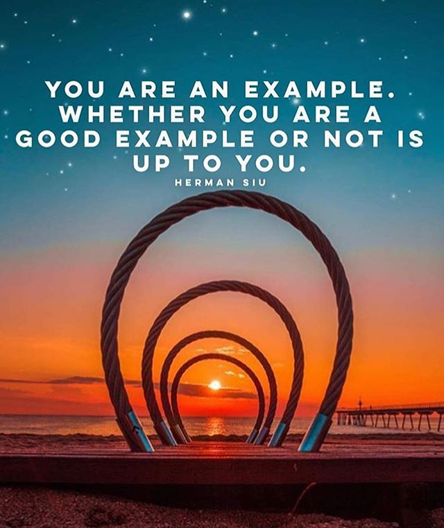 You are an example 🙏🏻