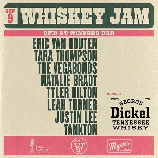 Tomorrow night! 🤘@whiskeyjam