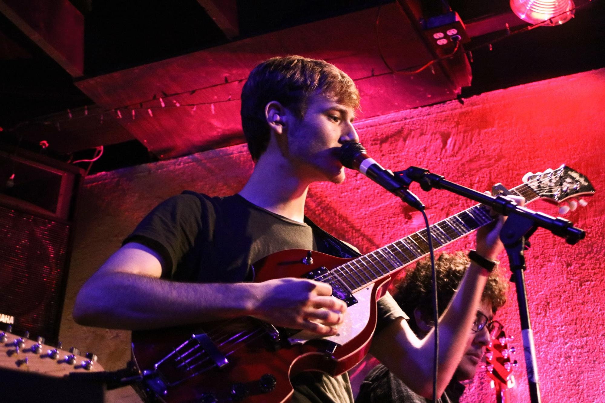 Guitarist and singer Andrés Garcia
