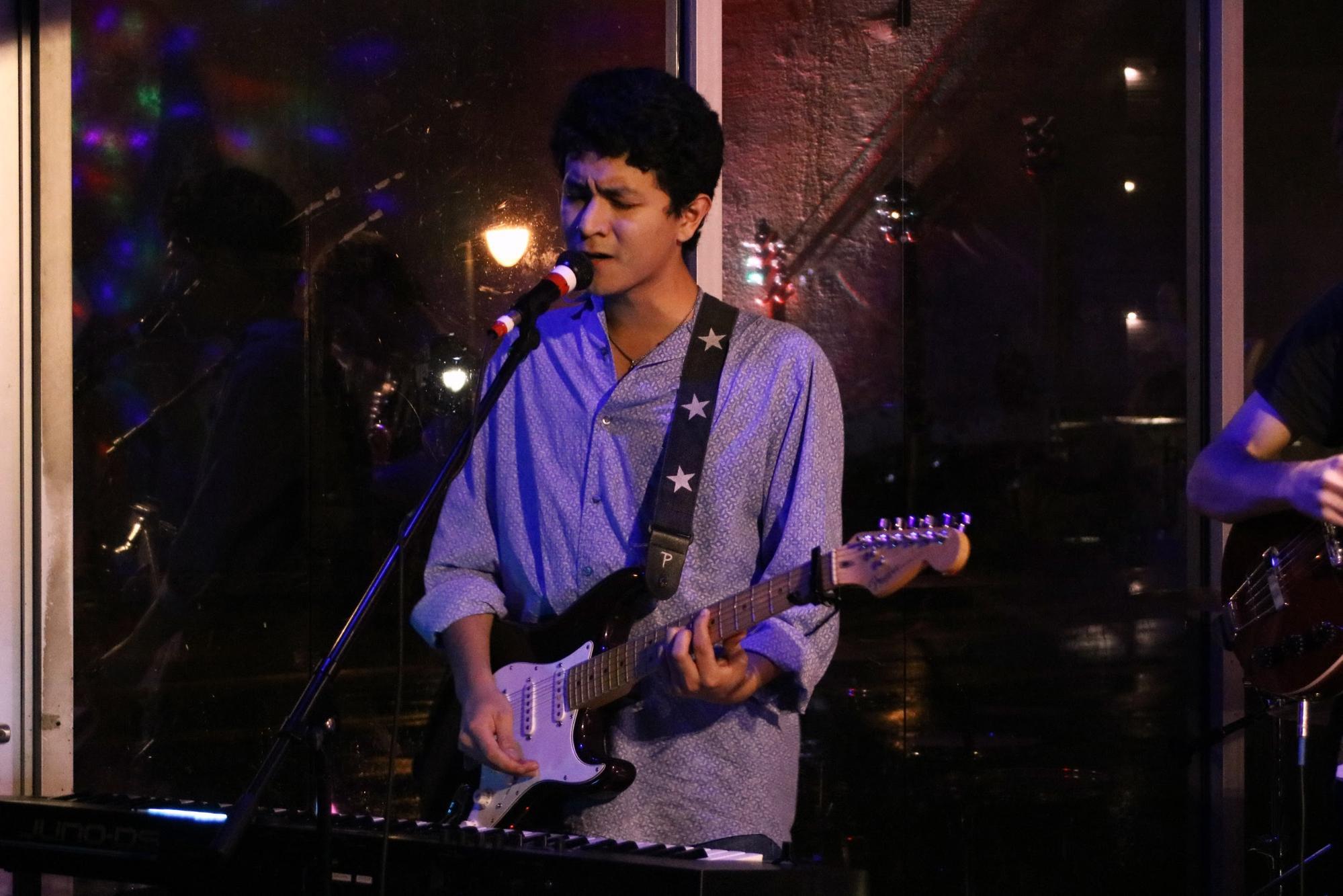 Guitarist/singer Marco Martinez
