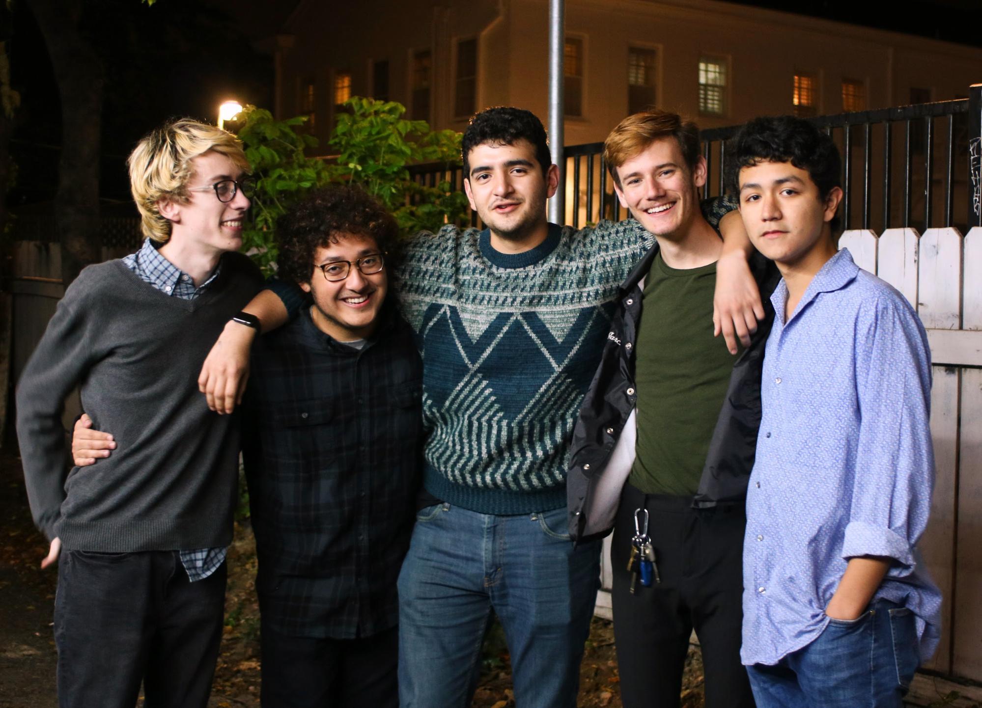 Left to Right: Mark Fountain, Ricky Olivares, Dominic Gomez, Andrés Garcia, Marco Martinez