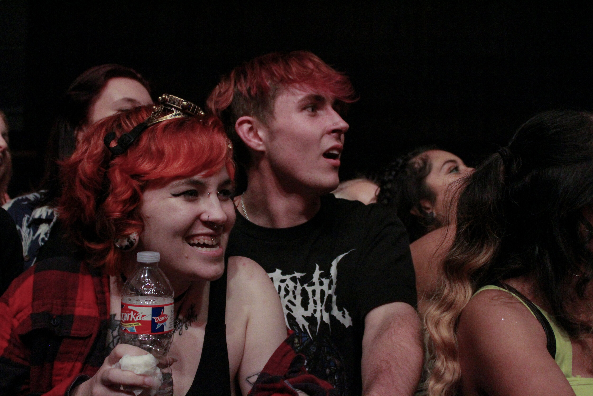 Fans jam out to Hippie Sabotage at Emo's Austin.