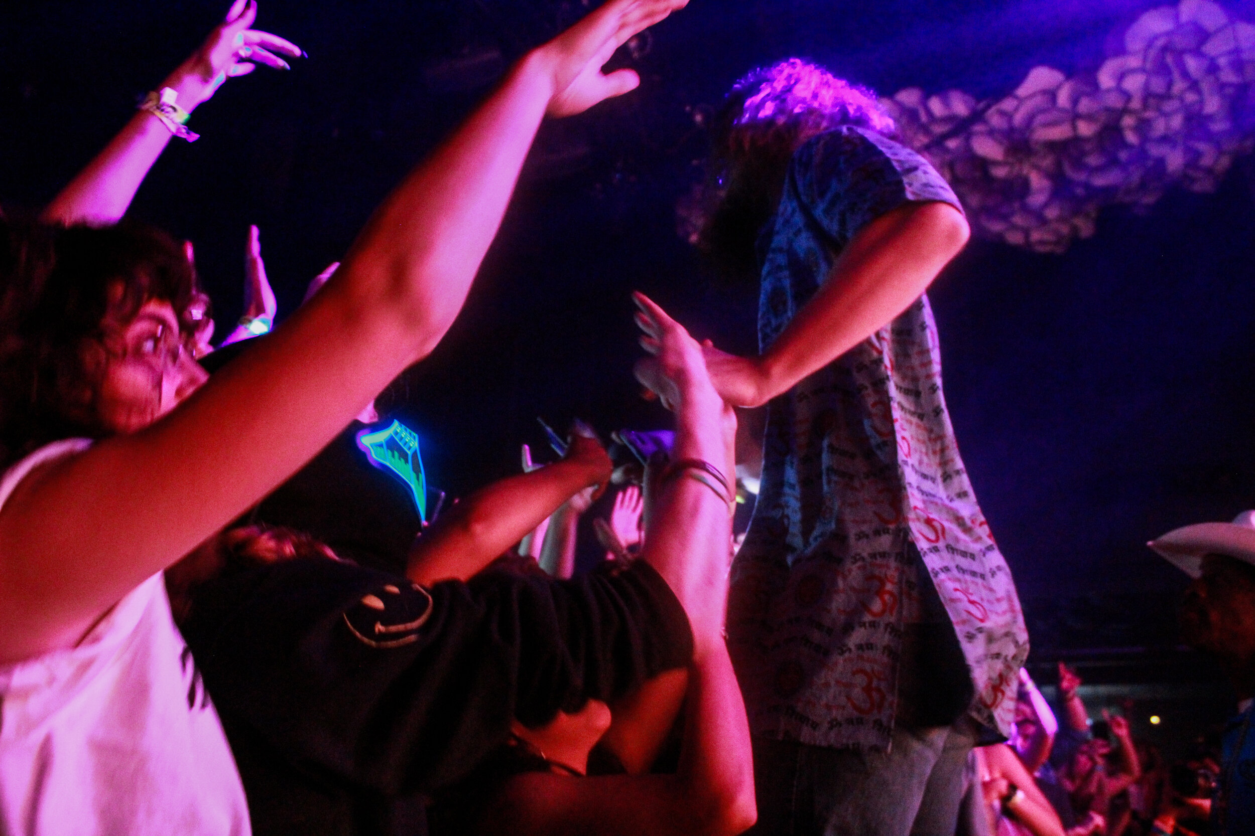 Hippie Sabotage plays at Emo's Austin as part of ACL's Late Night show series.
