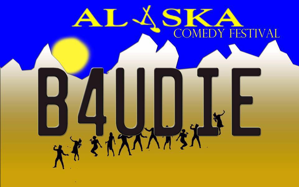 Media Reach: - Alaska B4UDie Comedy Fest can provide a wide exposure through a variety of media outlets and marketing channels.Below is a basic guide to the types of advertising, public and community relations opportunities afforded by a Level 3 FORGET ME NOT Sponsorship Package.1) Website-alaskab4udiefest.com*Social Media*Facebook- facebook.com/alaskab4udiefest*Twitter- @b4fest*Instagram- @Alaskab4udiefest2) Alaska B4UDie Comedy Fest Newsletter3) Print Advertising*Anchorage PRESS*Anchorage Daily News4) Online Advertising*Anchorage Press *Google adds5) Radio Promotions*Done on local radio stations leading up to the festival6) Direct Mail*targeted Mailers going out to thousands of Anchorage/Eagle River/Girdwood residents and business7) Podcasts*done on local and national podcasts leading up to the festival8) Posters*500 distributed around Anchorage/Eagle River/Girdwood/Palmer/Wasilla areas9) Flyers*1,000 distributed around Anchorage/Eagle River/Girdwood/Palmer/Wasilla areas10) Event Programs*1,000 distributed to festival performers and audience members11) Festival Passes*Distributed to festival performers and festival pass holders12) Event Signage*Street signage in downtown a Anchorage Before the event13) Signage*Onstage signage*Table top signage