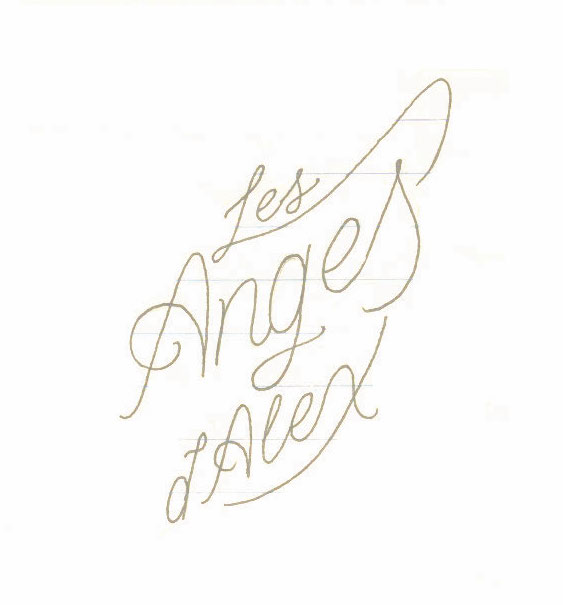 First logo sketch by Taylor.