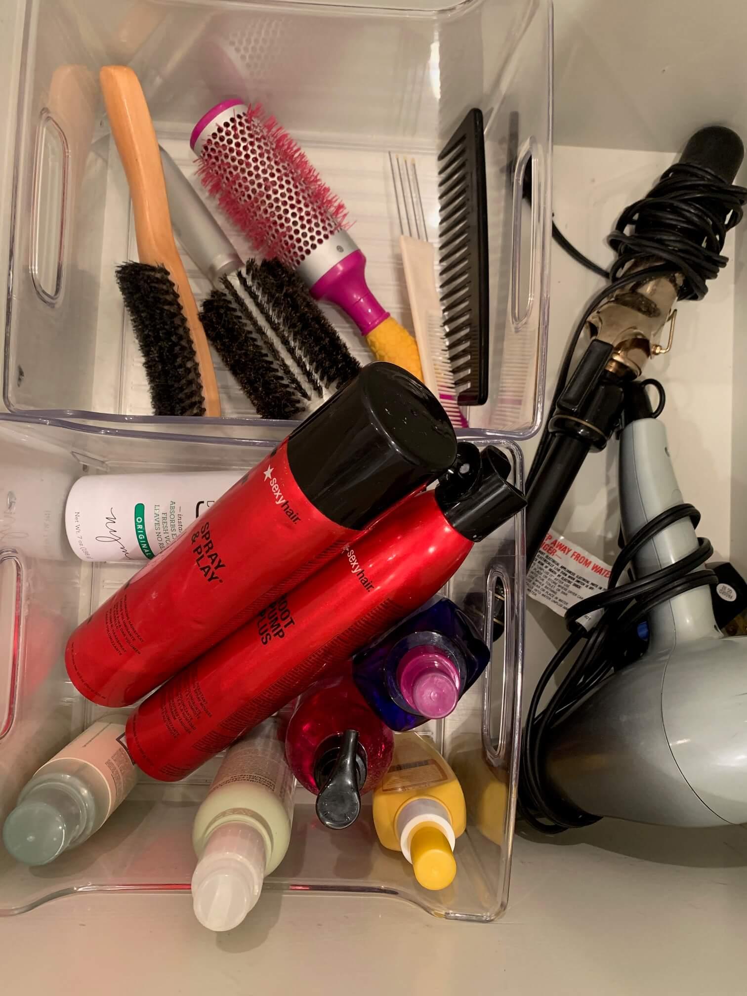 Chaos Organizing Bathroom Organization