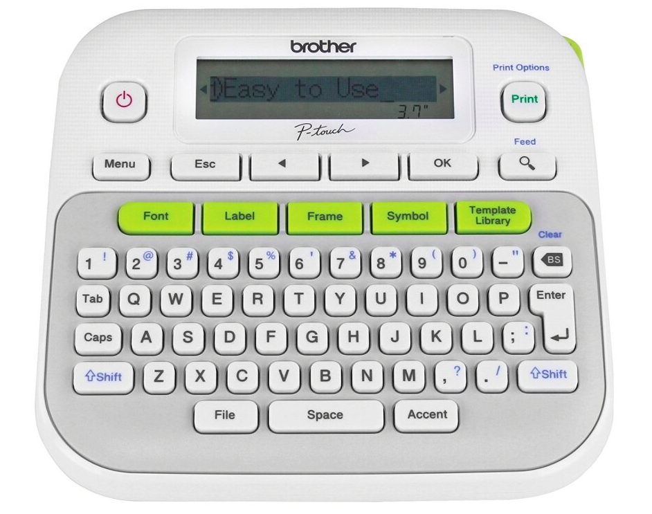 Brother Ptouch Labelmaker PTD210 Office Depot