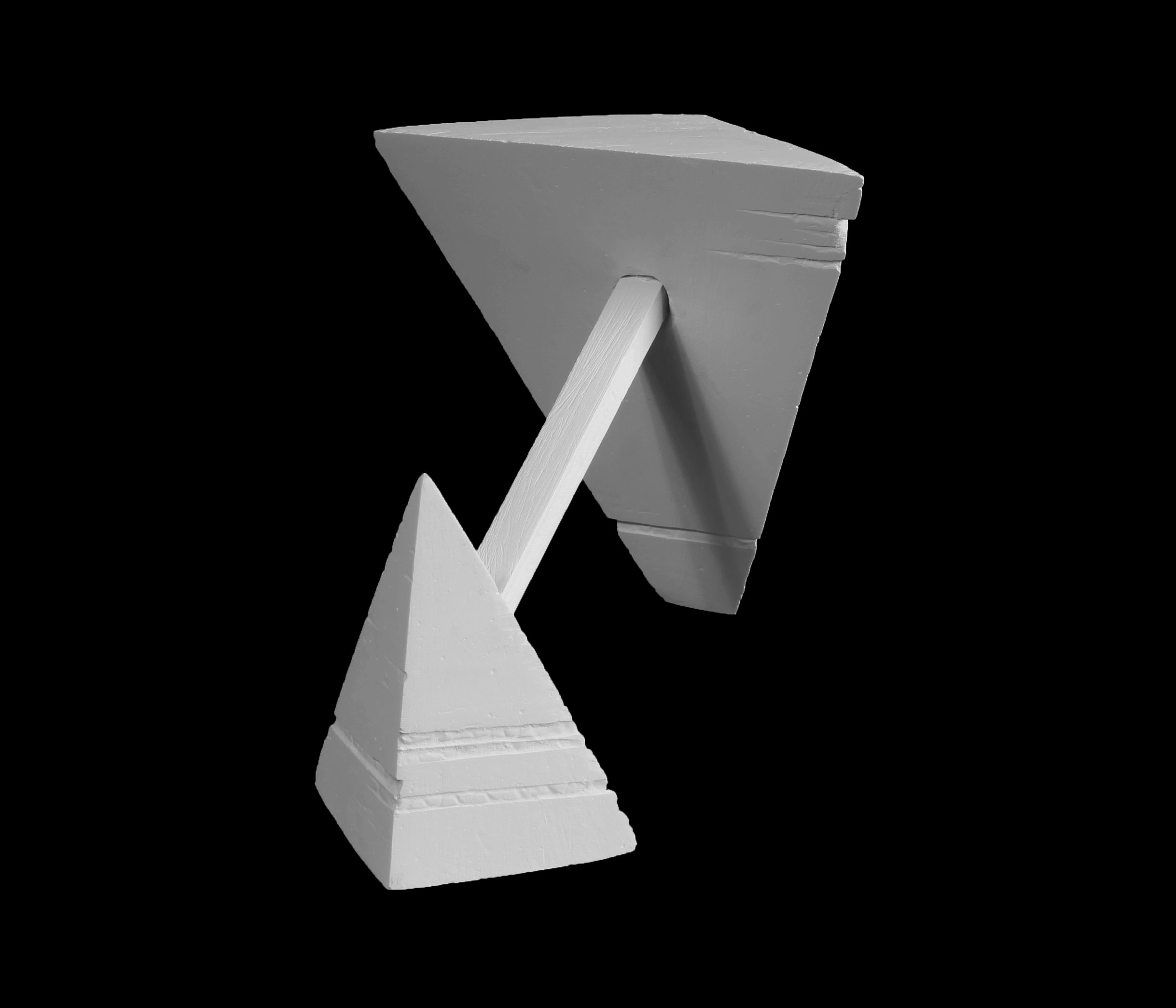 Forms can hold a lot of visual weight and still physically be balanced. The illusion of an unbalanced object creates the facade that the object is defying gravity.