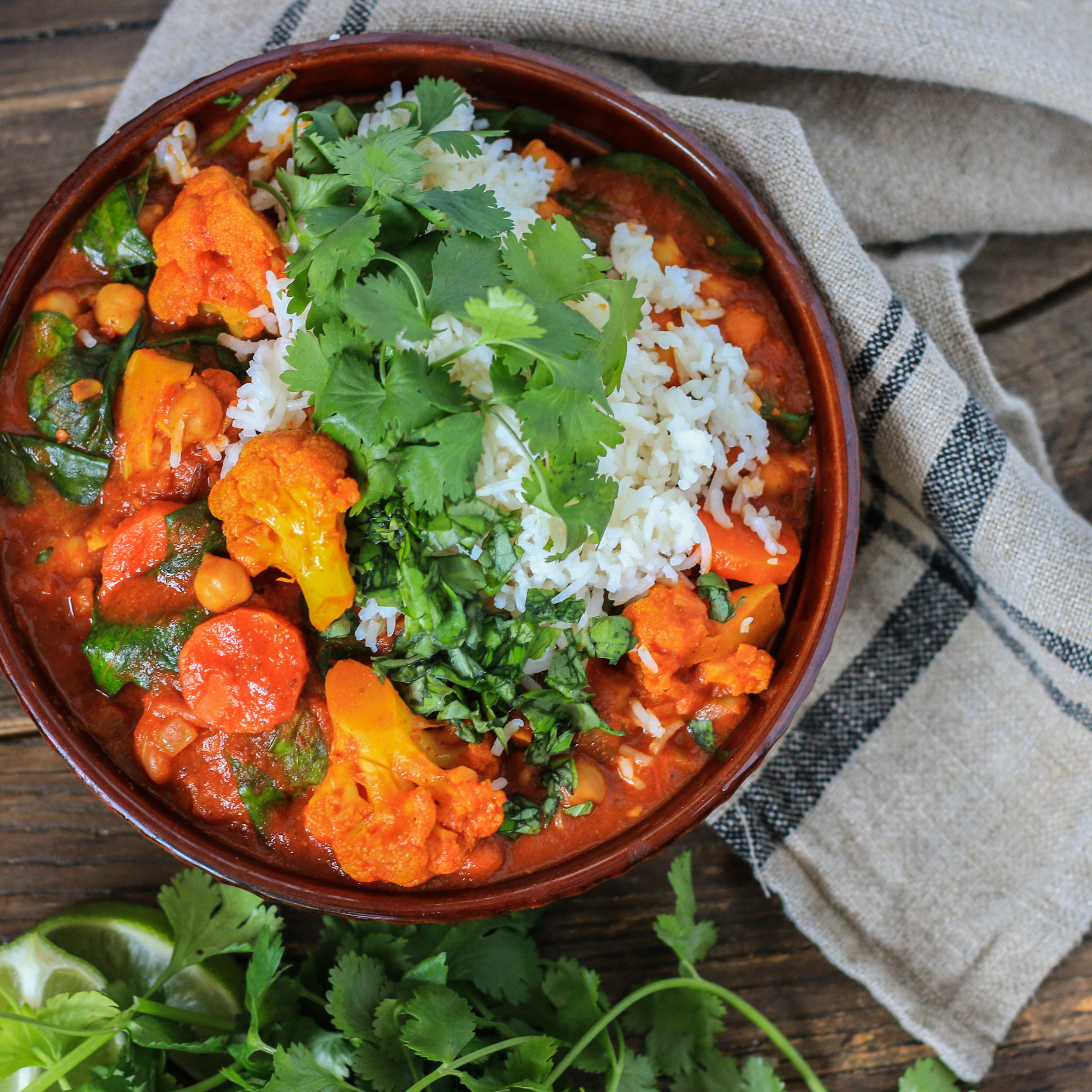 Vegetable Curry (Vegan and Gluten Free)