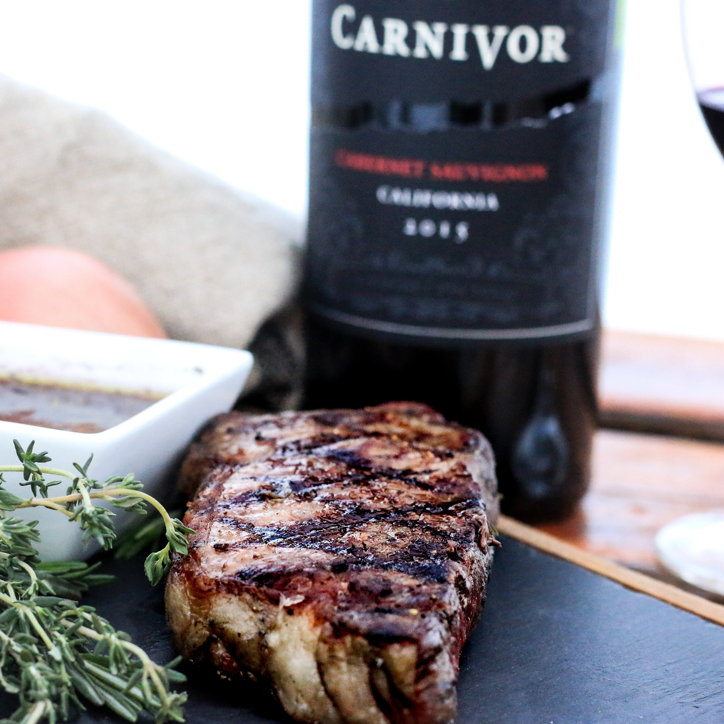 Perfectly Grilled Sirloin Steak