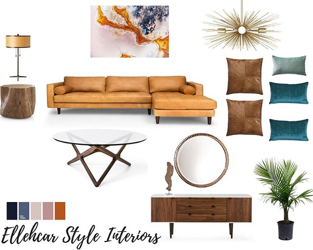The holiday's are Fastly approaching. I Love this time of the year! The leafs are slowly starting to turn into beautiful fall colors 🍁🍂the heat wave has subsided. Loving the way my concept Mood Board brings in those beautiful fall colors and refined elements. Is your home the chosen one for family gatherings this holiday season? If so, let me help you get through the decor process with ease! For more information go to www.ellehcarstyleinteriors.com | Currently still building my site. If you have any questions send me an email ellehcarstyle@gmail.com and I'll be happy to assist you!