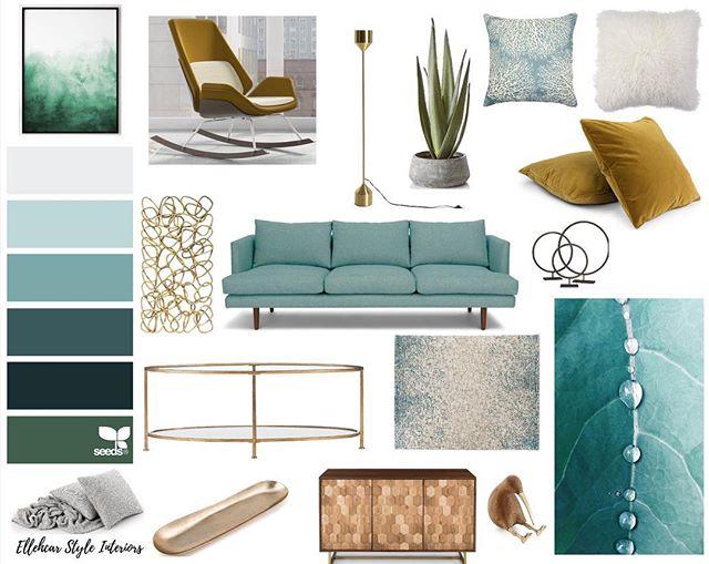 Concept Mood Board | Ellehcar Style Interiors