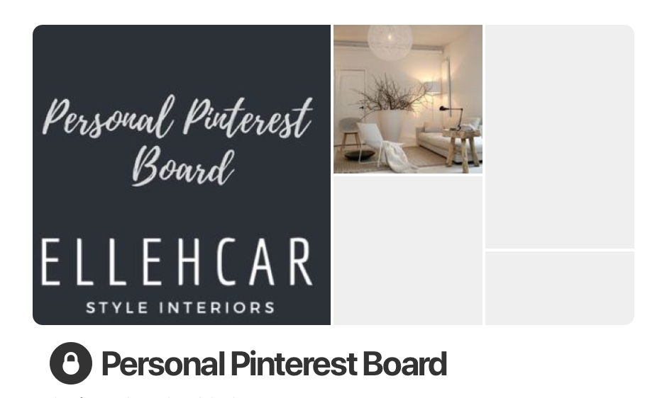 Secret Pinterest Board