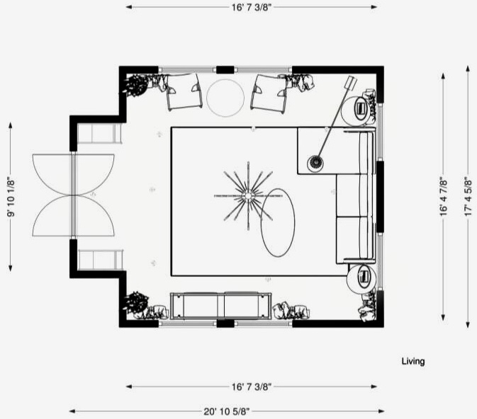 Furniture Layout | Floor Plan