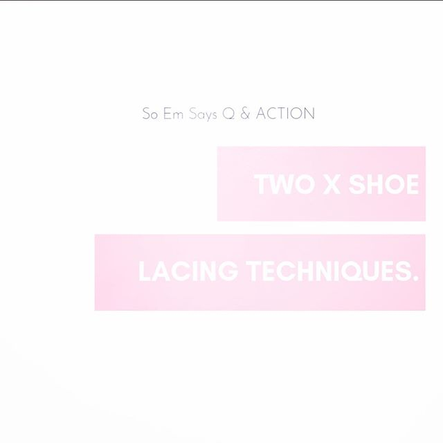 Happy Friday! Here is the first Q & Action IGTV just in time for your weekend activities! Use one or both of these cool lacing techniques to improve the fit, feel and function of your laced up trainers, hiking boots and sports shoes. ✌️ . . . . . . #wellpreneur #wellnessblogger #liveinspired #fitforme #moveyourbody #wellnessjourney #health #fitness #healthtalk #research #fitnessgoals #runningtips #getoutside #runners #training #trainhard #trainsmart #fitnessmotivation #fitquote #healthylife #gethealthy #lifestyle #injuryprevention #injurymanagement #feet #wellness #support #success #podiatrist #sportspodiatrist