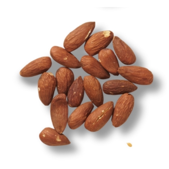 Almond   Almonds have been shown to promote weight loss, regulate blood sugar so you don't go down the craving spiral, alkalize the body for overall improved health, increase brain function, build strong teeth and bones and are high in antioxidants.