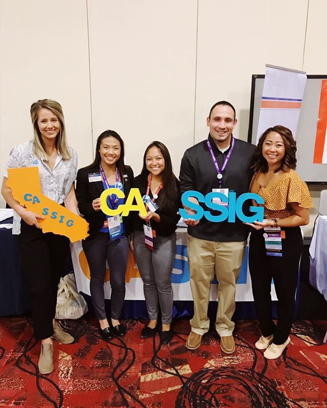Come to our SSIG meeting tonight from 6-7PM in Sonoma A! Grab some free cookies, meet your student SIG leaders, & mix & mingle with students from CA, AZ & NV! 🎰💥🍪