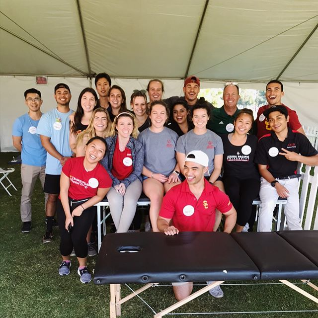 SoCal DPT students reppin' hard at Special Olympics Southern California, Fall Games Championship 2019 🏆Comment below if you were reppin' for Loma Linda, Chapman, CSUN, APU or USC 🙌🏽