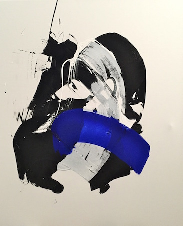 RICHARD MARTIN    Imaginary Moment   acrylic on canvas under perspex  160 x 130 cm