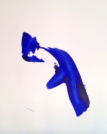 RICHARD MARTIN    Bliss   acrylic on canvas under perspex  160 x 130 cm