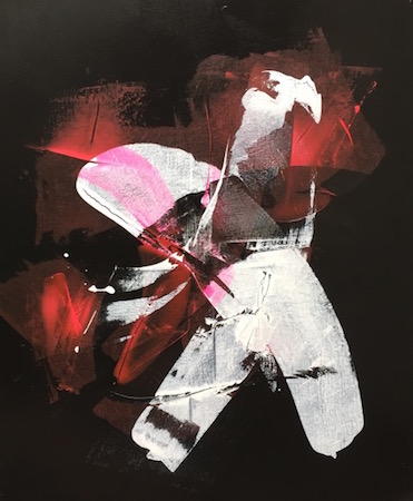 RICHARD MARTIN    Broken Dreams   acrylic on canvas under perspex  122 x 101 cm