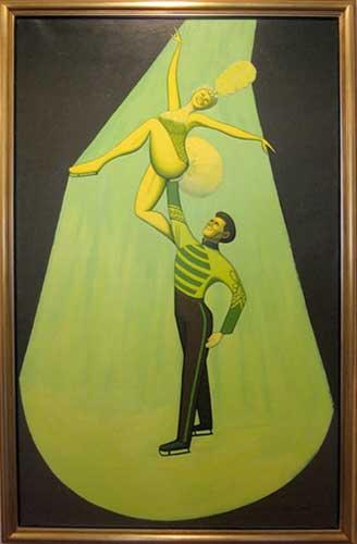 Adagio    oil on canvas  182 x 115 cm   SOLD