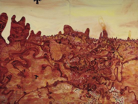 Bungle Bungles    oil on board  182 x 244 cm   SOLD