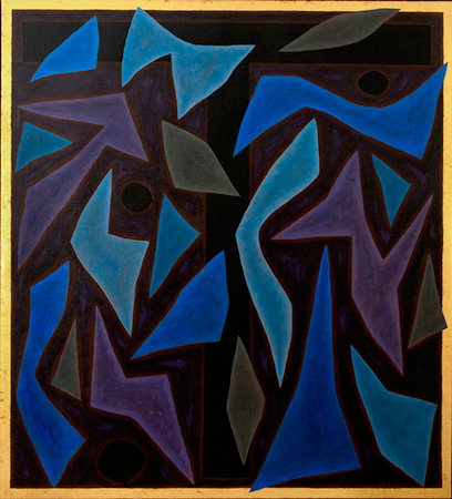Lamentation, 1986    Oil on Canvas  168 x 153cm  signed lower right   SOLD