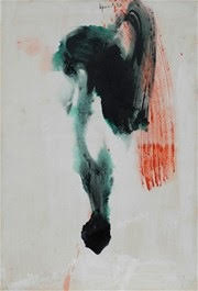 Untitled , 1960    PVA on board 55.5 x 38 cm  signed and dated upper middle