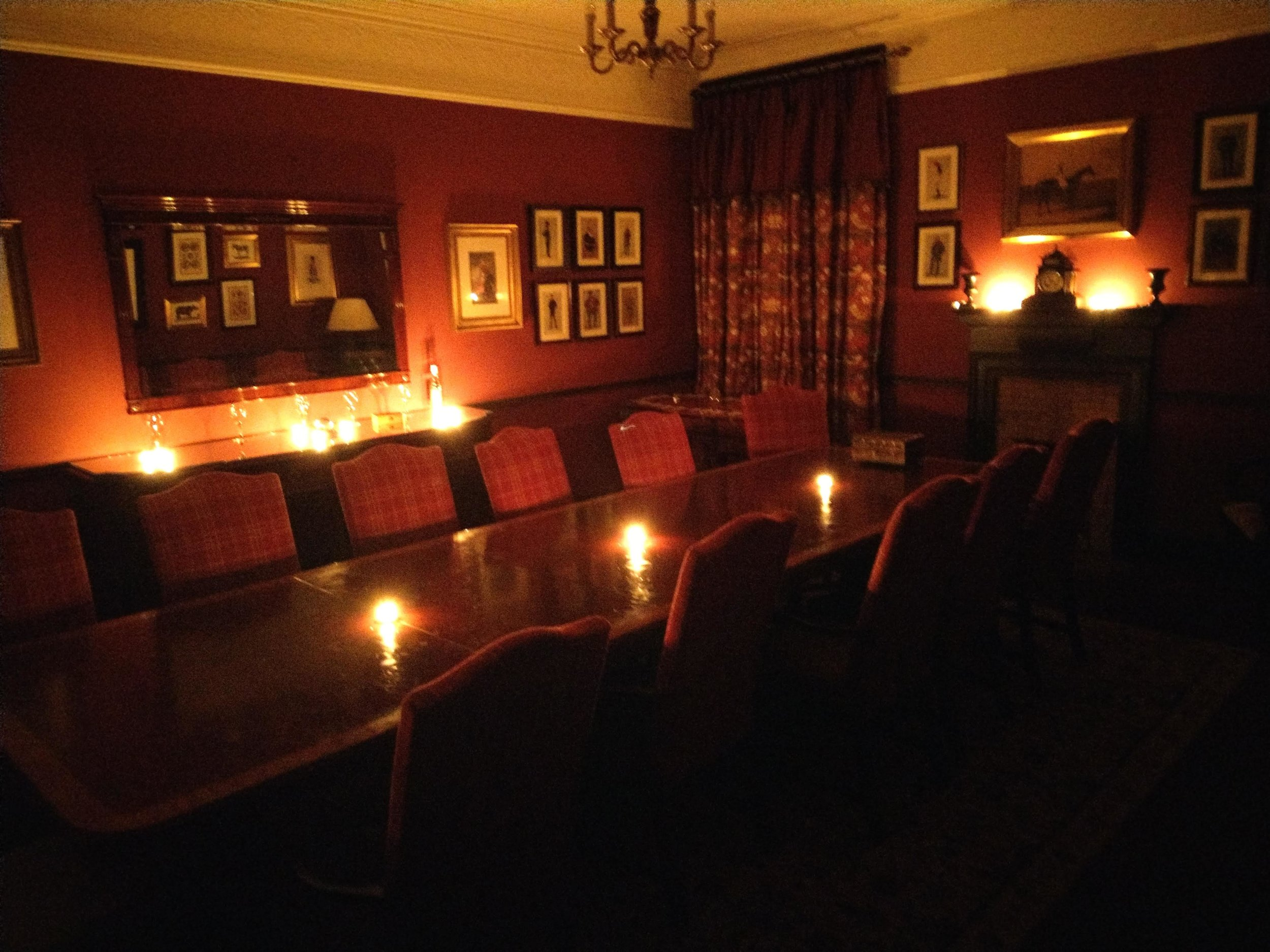The Seance chamber