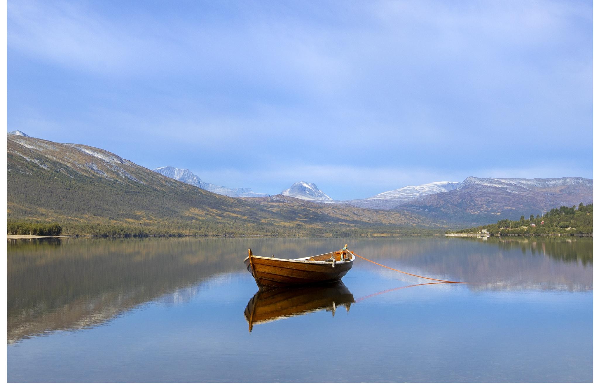 Båt- og kano-leie