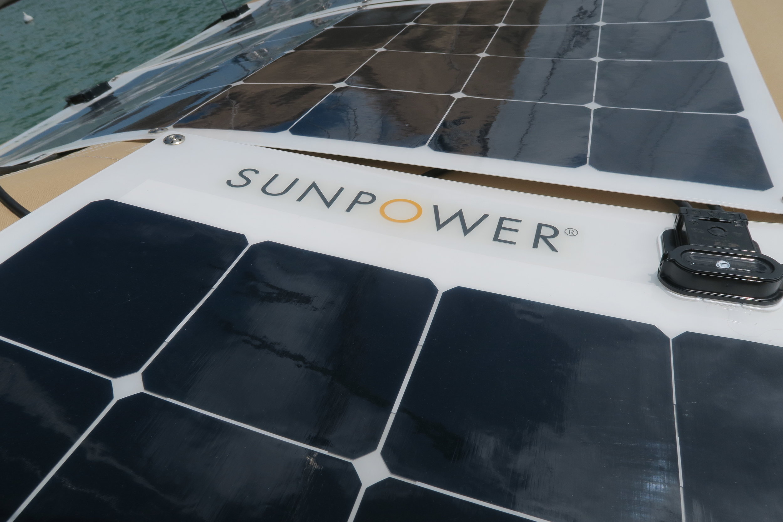 The SunPower 100 watt semi-flexible solar panels are the most efficient semi-flexible panels available