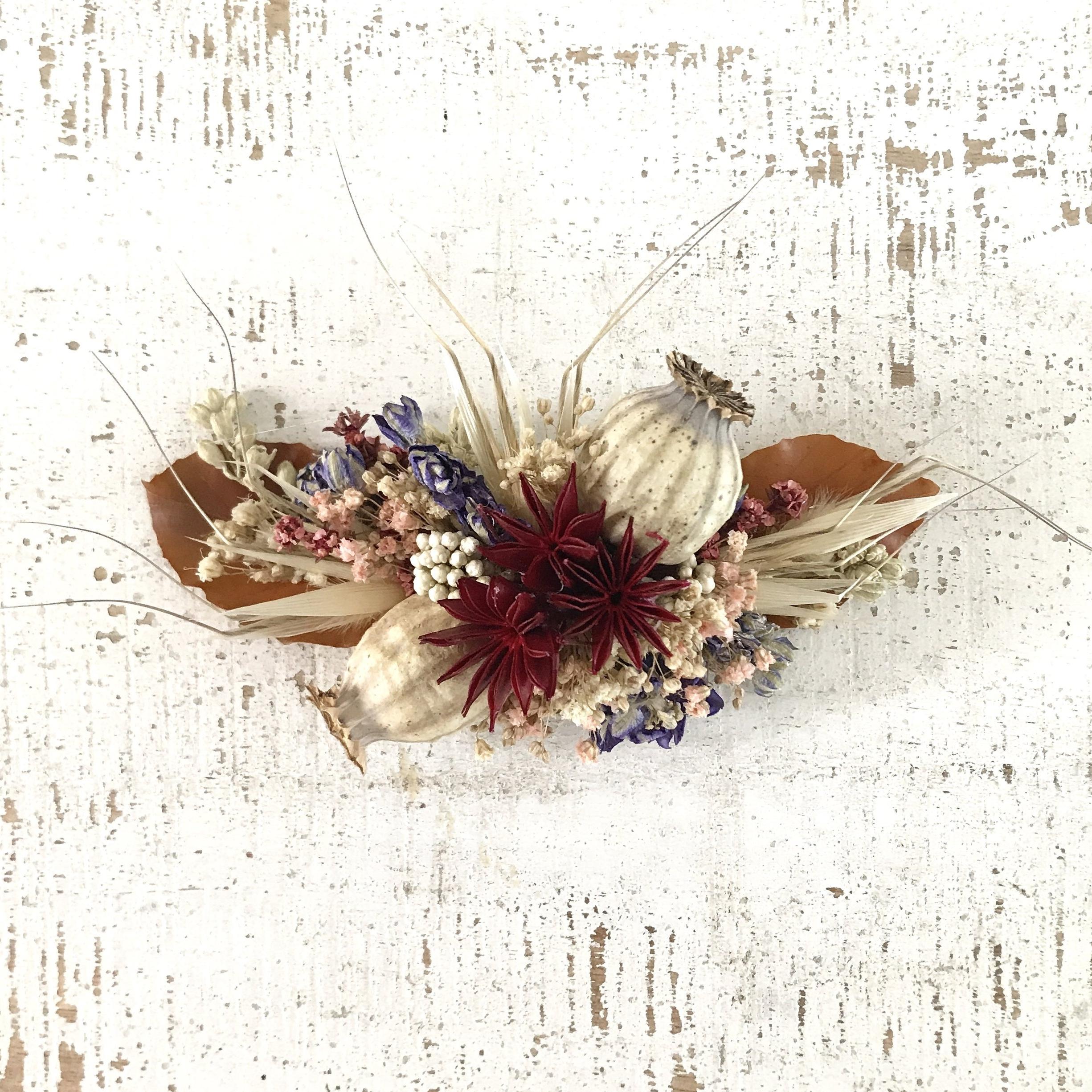 Copia de Peinecillo de flores secas y preservadas