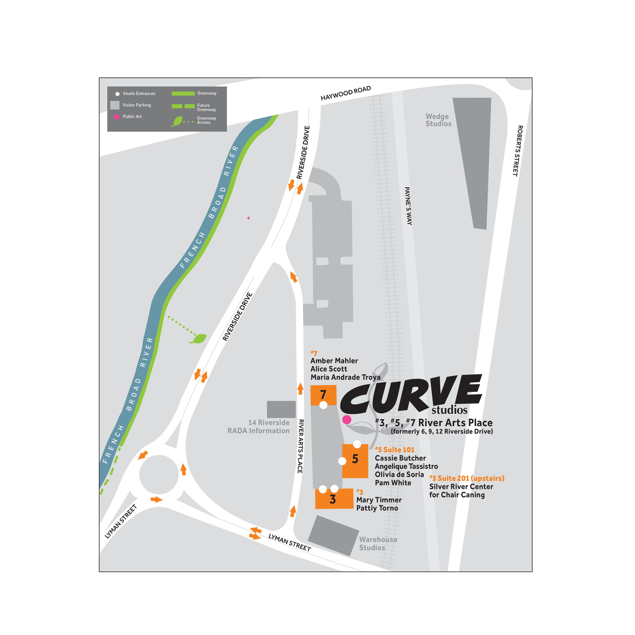 We are in construction mode right now, so follow the detour signs!