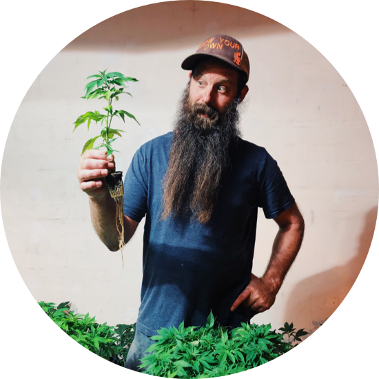 Garden Om Founder and Master Grower, Joe Jernegan